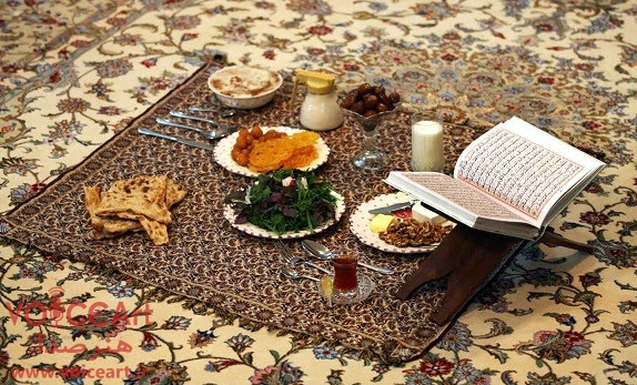 مراسم افطار-فرهنگ مردم-رادیو ایران-هنرصدا