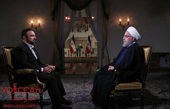 انتقاد المیرا شریفی مقدم از اجرای «مرتضی حیدری» در مصاحبه با رییس جمهور