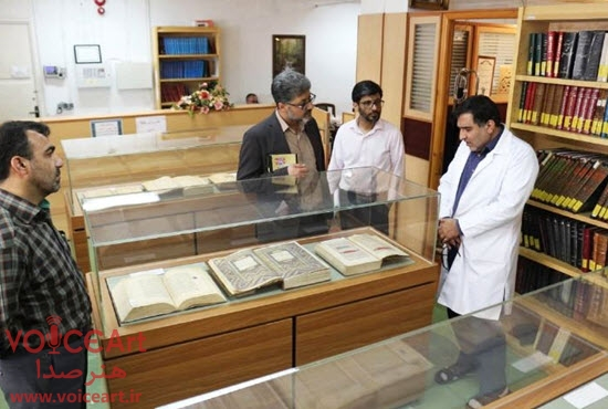 بازدید مدیران رادیو تهران از کتابخانه، موزه و مرکز اسناد مجلس شورای اسلامی