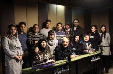 تصاویری از دوره آموزشی دوبله استاد سعید مقدم منش پاییز ۹۸