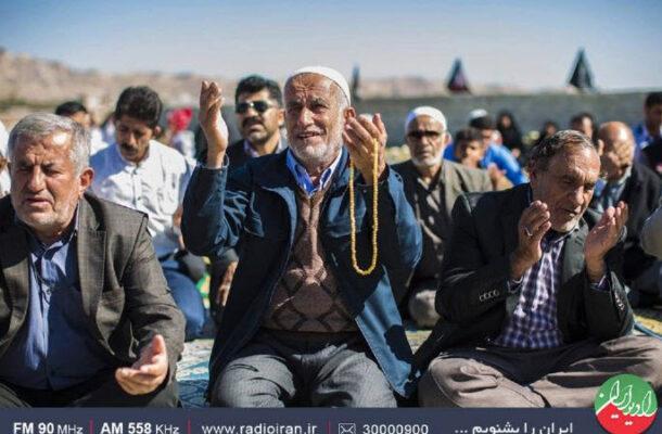 مراسم قبله دعا در «فرهنگ مردم» رادیو ایران