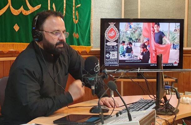 پویش زیارت نیابتی در رادیو اربعین
